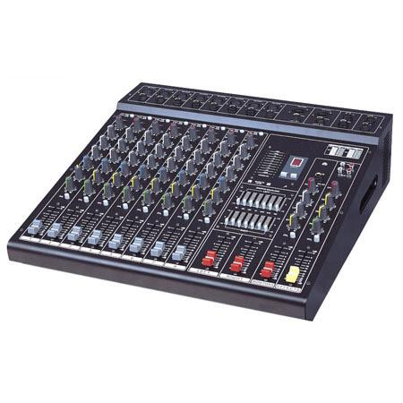 powered mixing console. Black Bedroom Furniture Sets. Home Design Ideas